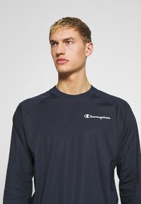 Champion - ELASTIC CREWNECK - Bluza - dark blue - 3
