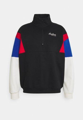 CREW BARNETT - Zip-up sweatshirt - negra