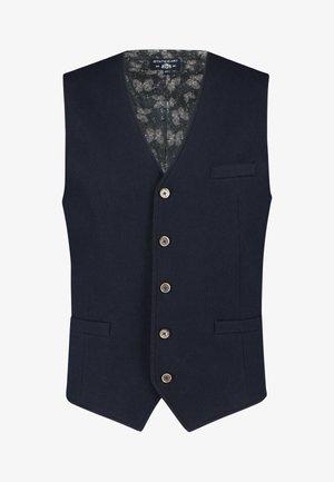 Suit waistcoat - dark-blue plain