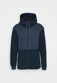 MENS MANUKAU JACKET - Fleece jacket - steelblue