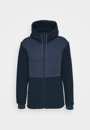 MENS MANUKAU JACKET - Fleece jacket - steelblue