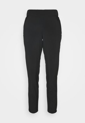 CLASSIC SLIM PANTS - Ulkohousut - black