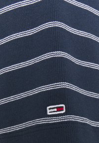 Tommy Jeans Curve - STRIPED WRAP - Print T-shirt - twilight navy/white - 4