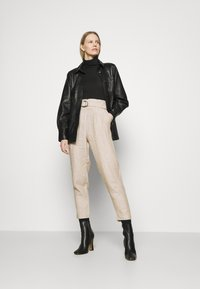 Marks & Spencer London - Trousers - beige - 1
