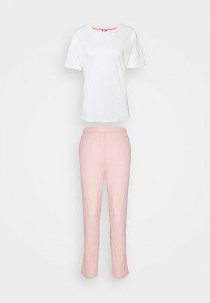 CANDITA SET - Pyjamas - coral