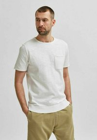 Selected Homme - T-shirt - bas - white - 0