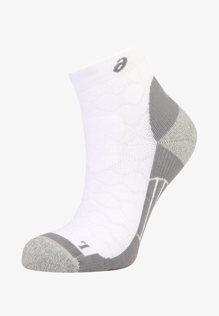ASICS - ROAD QUARTER - Sports socks - real white