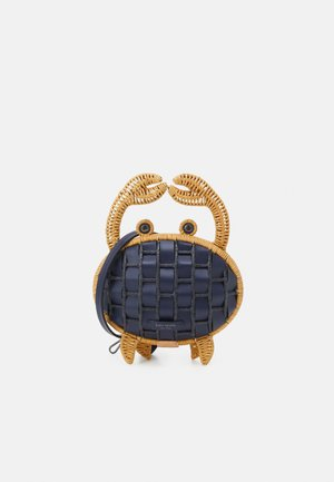 WICKER CRAB - Across body bag - blazer blue