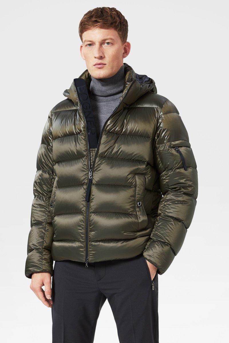 Bogner - Down jacket - olivgrün