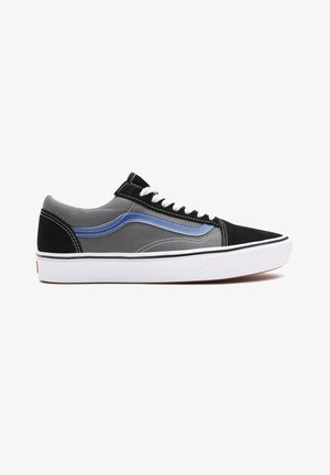 UA COMFYCUSH OLD SKOOL - Sneakers - (tri-tone) black/pewter