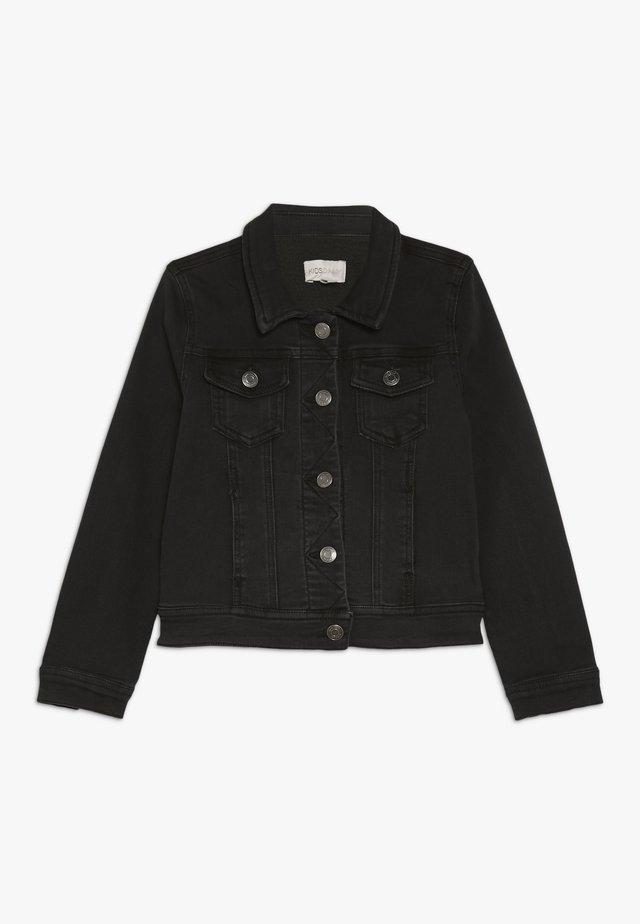 KONSILLE JACKET - Giacca di jeans - black denim