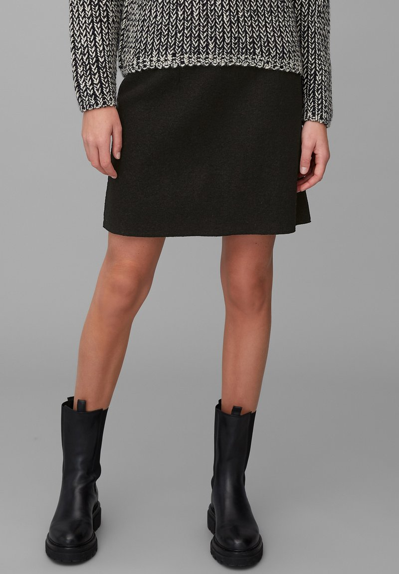Marc O'Polo - A-line skirt - black