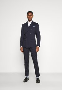 Selected Homme - SLHSLIM MAZELOGAN SUIT - Traje - navy - 1