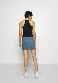 Calvin Klein Jeans - LOGO TRIM TANK - Top - black - 2