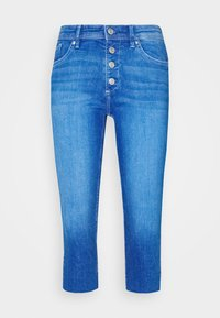 s.Oliver - Denim shorts - blue denim - 5