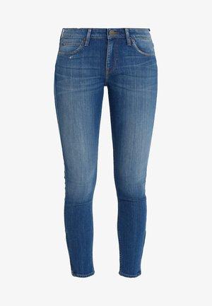 SCARLETT CROPPED - Jeans Skinny Fit - blue denim