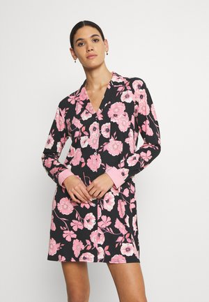 NIGHTGOWN - Nightie - black/rose