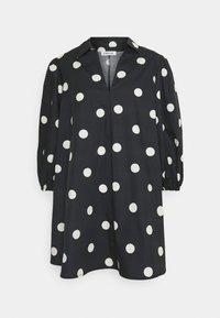 THANYA DRESS - Day dress - bold dot/black