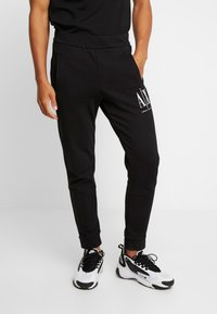 Armani Exchange - JOGGER - Jogginghose - black - 0