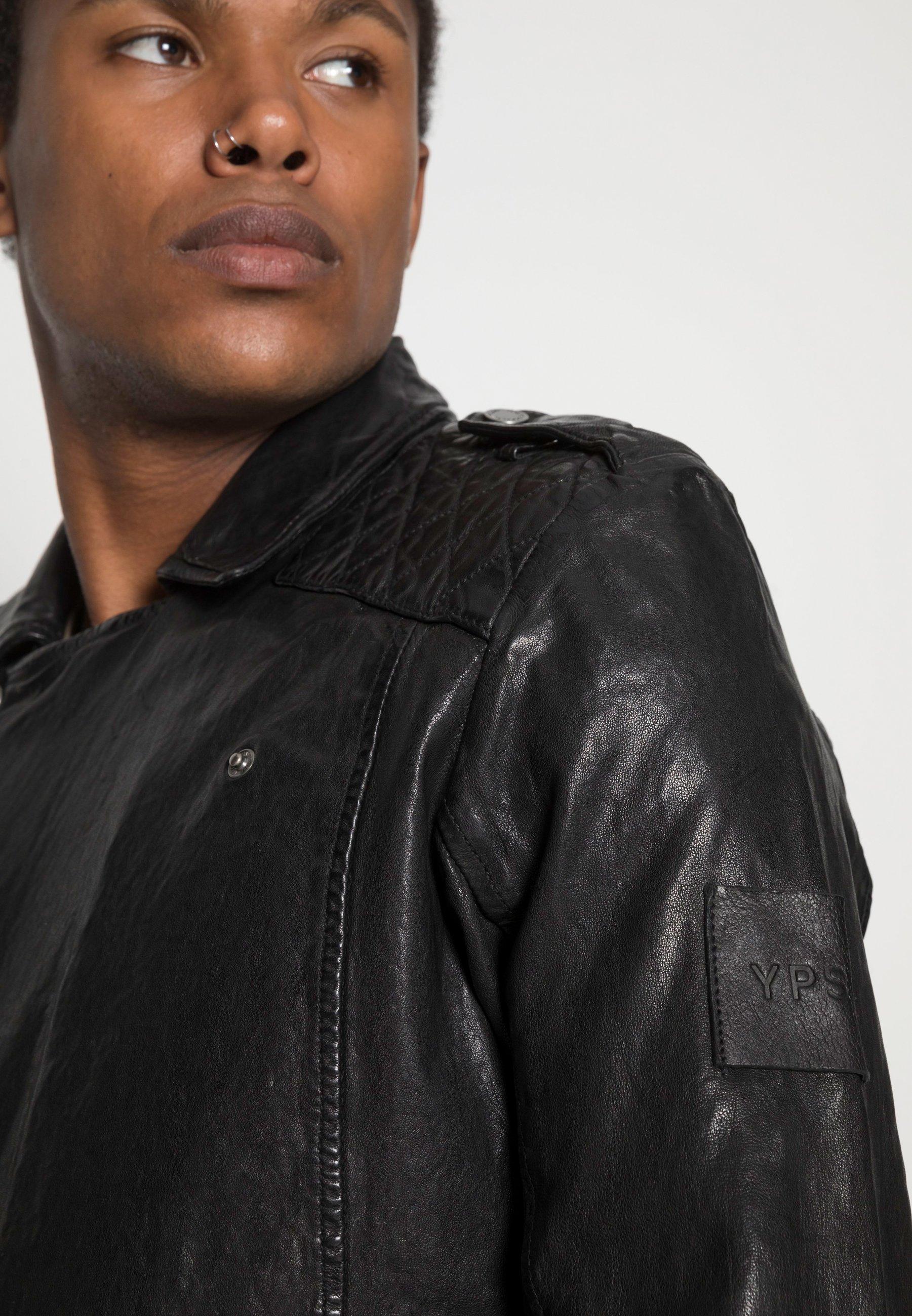 Men ELON - Leather jacket