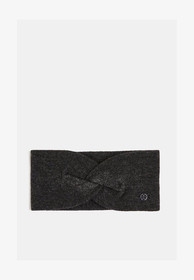 Ear warmers - dark grey