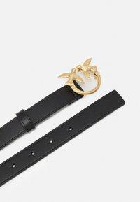 Pinko - LOVE BERRY SMALL SIMPLY BELT - Cinturón - black - 1