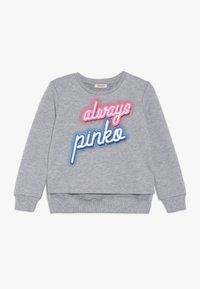 Pinko Up - GELATAIO MAGLIA FELPA - Sweatshirt - mottled grey - 0
