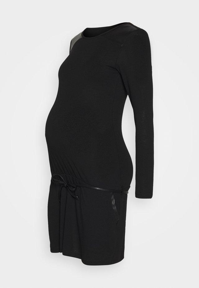 TUNIC  - Sukienka z dżerseju - black