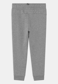 Puma - LOGO UNISEX - Tracksuit bottoms - medium gray heather - 1
