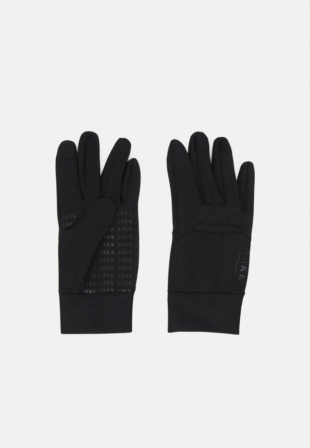 GLOVES UNISEX - Fingervantar - black