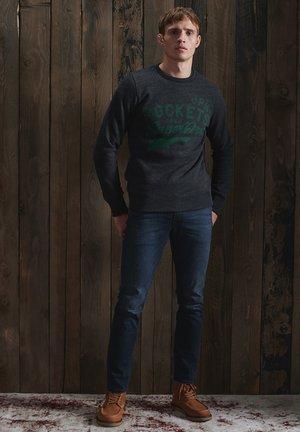Sweatshirt - black snow heather