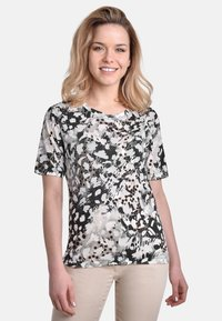 Bicalla - Print T-shirt - black-sand - 1