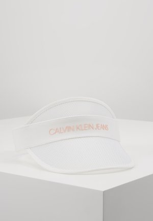 LOGO TRANSPARENT VISOR - Gorra - white
