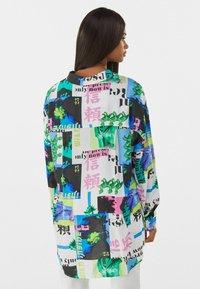 Bershka - MIT PRINT  - Button-down blouse - stone - 2