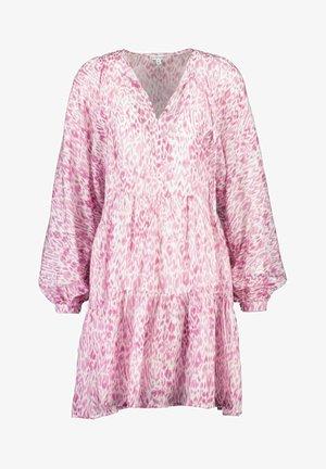 Korte jurk - pink animal