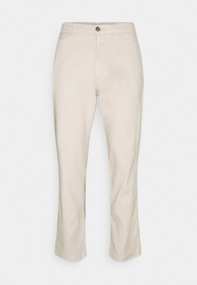 ATELIER TAPERED - Chino - greige