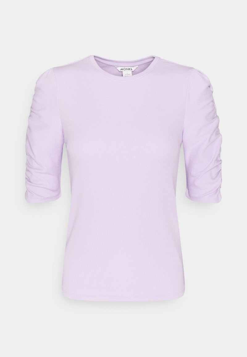 Monki PIRI - T-Shirt print - lilac/flieder zTXvIh