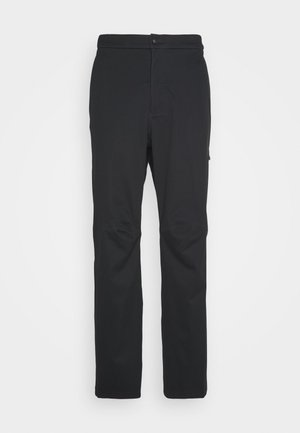 HYPERSHIELD PANT - Tygbyxor - black/dark smoke grey