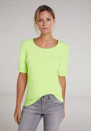 Basic T-shirt - safety yellow