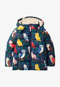 Boden - MIT WATTIERUNG - Winter coat - schuluniform-navy, eulen - 0