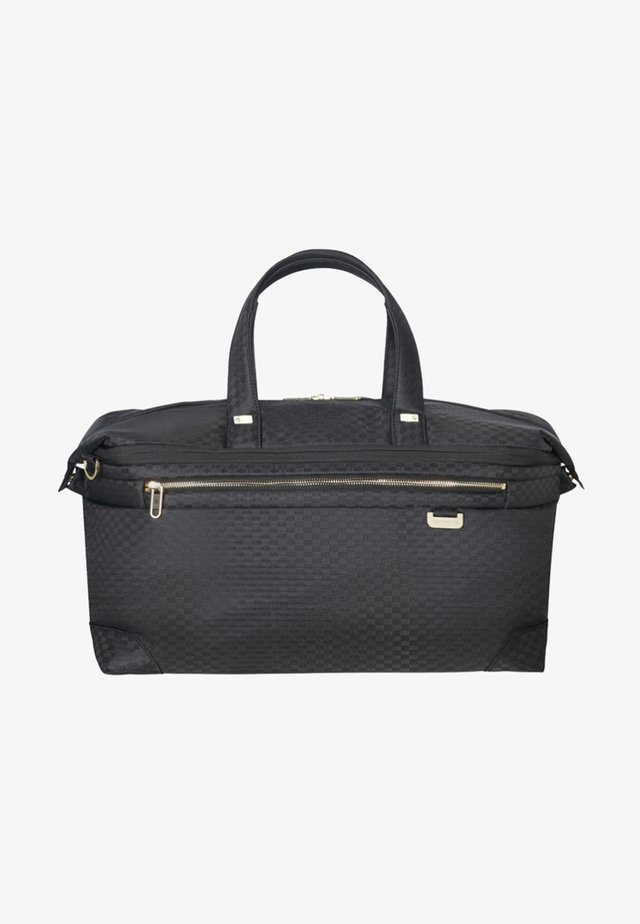 UPLITE - Weekend bag - black/gold