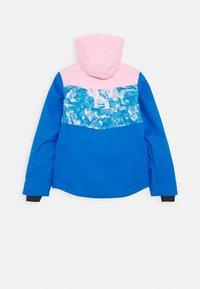 Kjus - GIRLS MILA JACKET - Snowboard jacket - blue/pink - 1