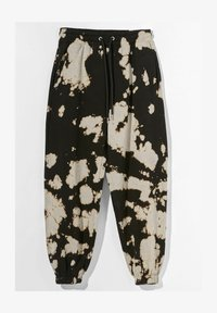 Bershka - Tracksuit bottoms - black - 5