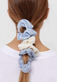 Stradivarius - 3ER SET  - Hair styling accessory - blue - 1