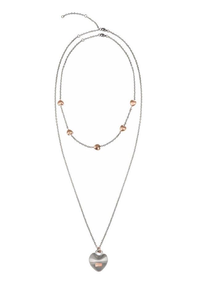 COLLANA KILOS OF LOVE  - Necklace - silver-rose