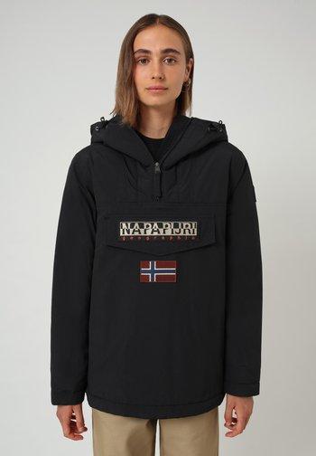 RAINFOREST WINTER - Winter jacket - black 041