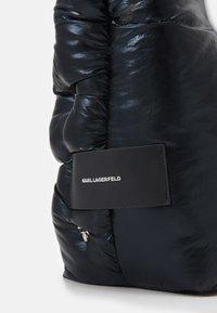 KARL LAGERFELD - IKONIK 3D MULTI PIN TOTE - Tote bag - black - 4