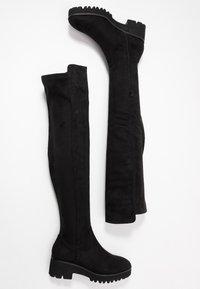Anna Field - Overknee laarzen - black - 3
