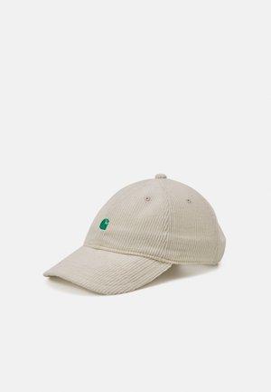 HARLEM UNISEX  - Gorra - off-white/green