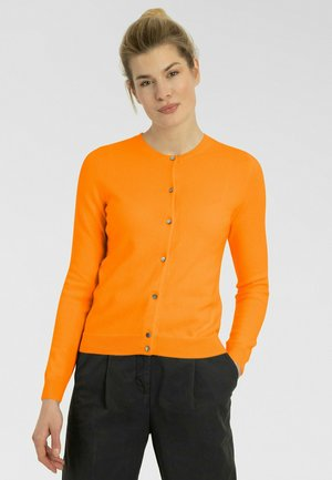 RUNDHALS - Cardigan - spicy orange